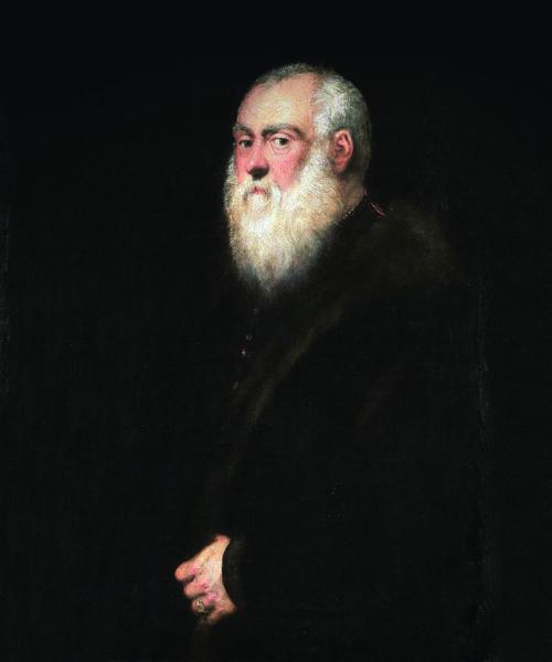 L'Homme à la barbe blanche - Le Tintoret